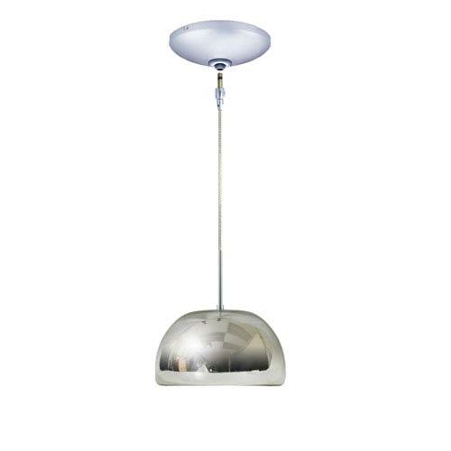 Envisage VI Chrome 8-Inch One-Light Low Voltage Dome Mini Pendant