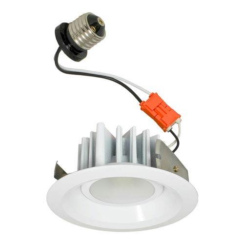 White 5-Inch One-Light LED Retrofit Module, 2700K