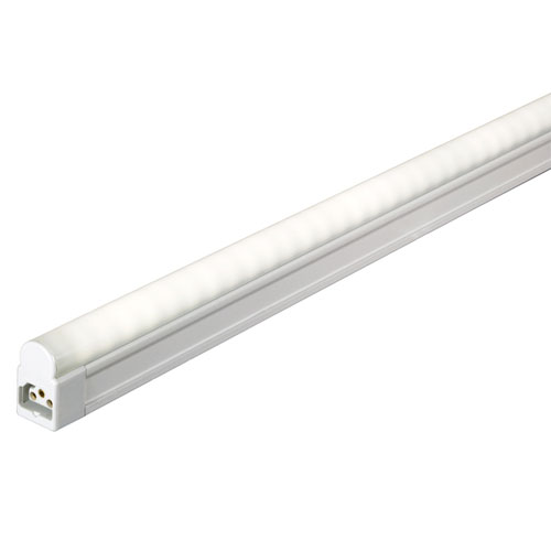 White 46.5-Inch LED Sleek Undercabinet Light with Switch, 3000K