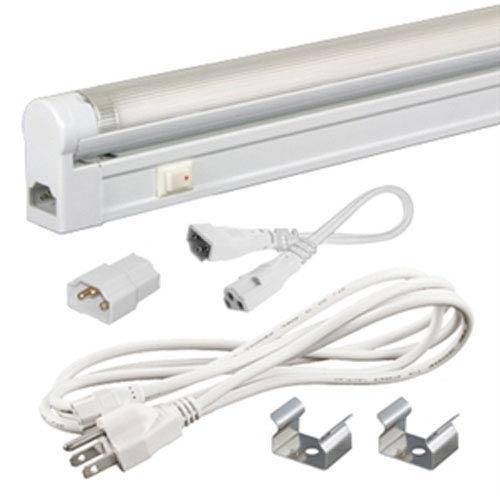 Jesco Lighting Group Jesco White Sleek Plus Adjustable Fluorescent Kit 24W 4100K