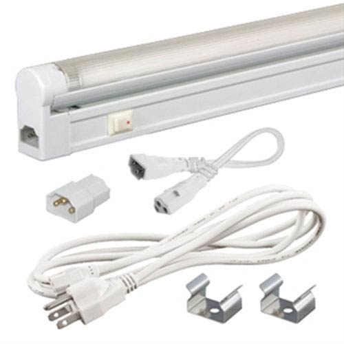 Jesco Lighting Group Jesco Fluorescent White Sleek Plus Adjustable Fluorescent Kit 28W 4100K