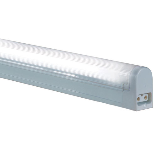 White 34.5-Inch 24W T4 Fluorescent Non-Grounded Undercabinet Fixture, 3000K