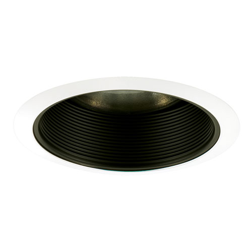 Black 6-Inch Step Baffle Trim
