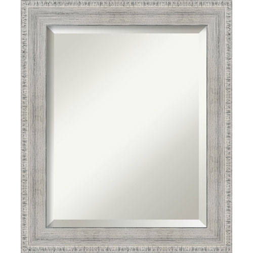 White 20-Inch Wall Mirror