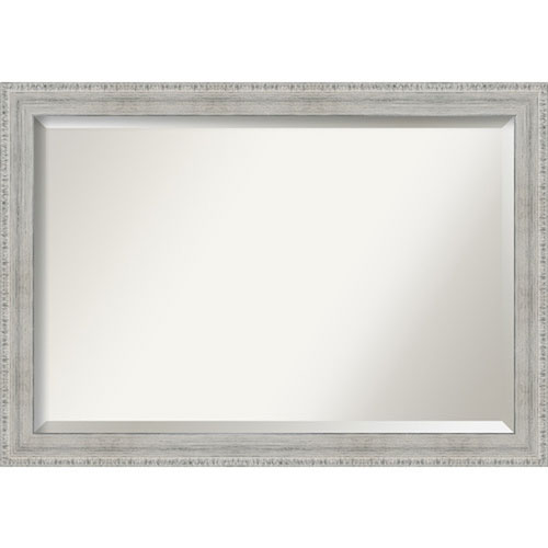White 40-Inch Wall Mirror