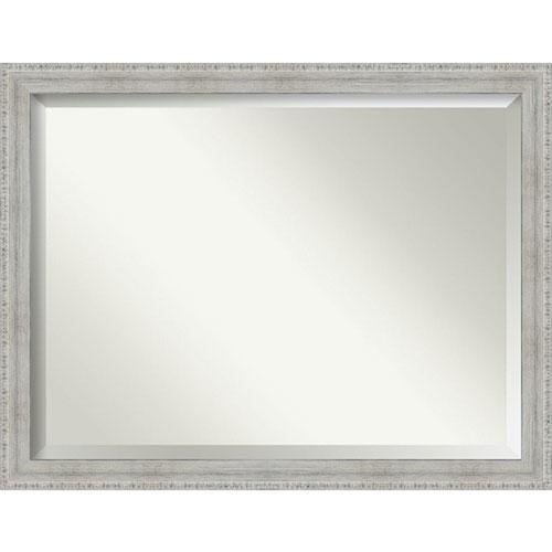 White 44-Inch Wall Mirror