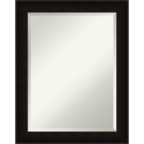 Manteaux Black 22W X 28H-Inch Decorative Wall Mirror