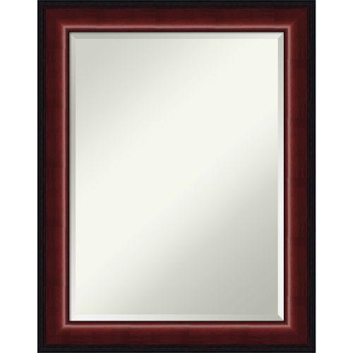 Mahogany 23W X 29H-Inch Decorative Wall Mirror