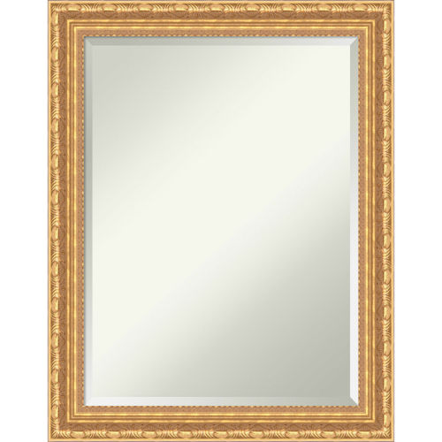 Versailles Gold 22W X 28H-Inch Decorative Wall Mirror