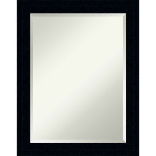 Tribeca Black 22W X 28H-Inch Decorative Wall Mirror