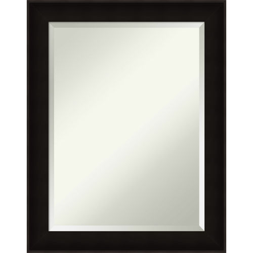 Manteaux Black 22W X 28H-Inch Bathroom Vanity Wall Mirror