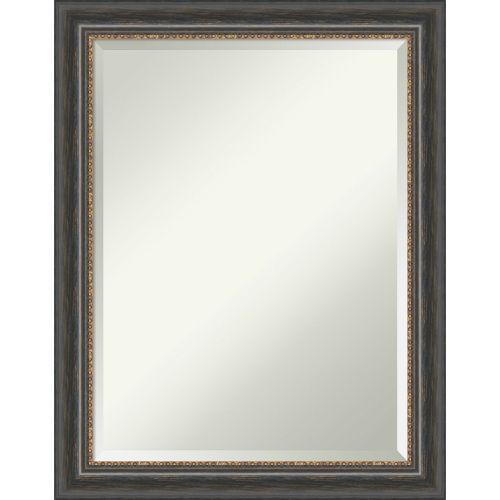 Tuscan Brown 22W X 28H-Inch Bathroom Vanity Wall Mirror