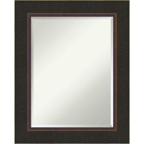 Milano Bronze 24W X 30H-Inch Bathroom Vanity Wall Mirror