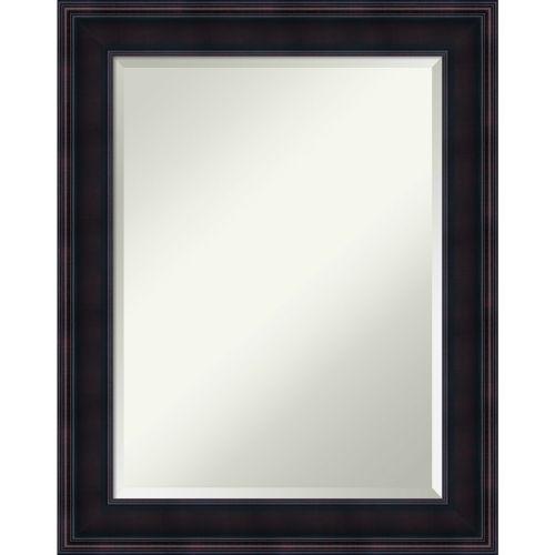 Annatto Mahogany 23W X 29H-Inch Bathroom Vanity Wall Mirror