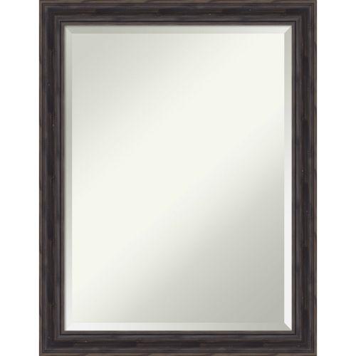 Brown 21W X 27H-Inch Bathroom Vanity Wall Mirror