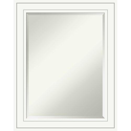 Craftsman White 23W X 29H-Inch Bathroom Vanity Wall Mirror