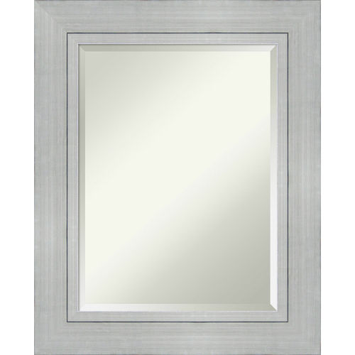 Romano Silver Bathroom Vanity Wall Mirror