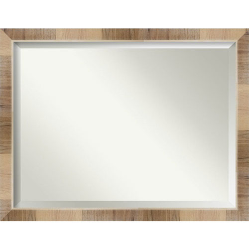 Brown 44-Inch Wall Mirror