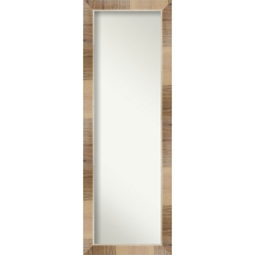 Brown 18-Inch Full Length Mirror