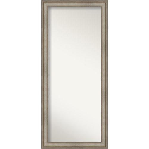 Mezzanine Antique Silver 29-Inch Floor Mirror