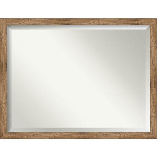 Owl Brown Bathroom Wall Mirror