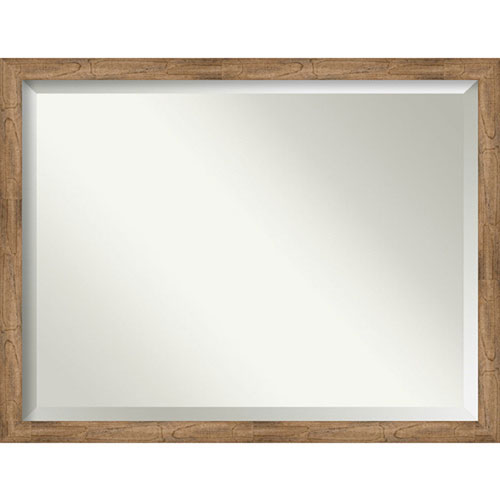 Owl Brown 43-Inch Wall Mirror