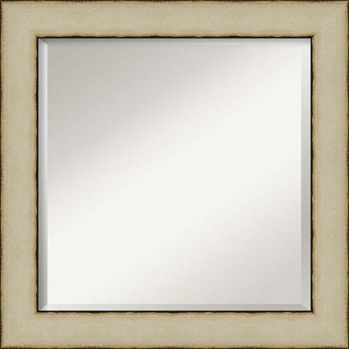 Cream 25-Inch Wall Mirror