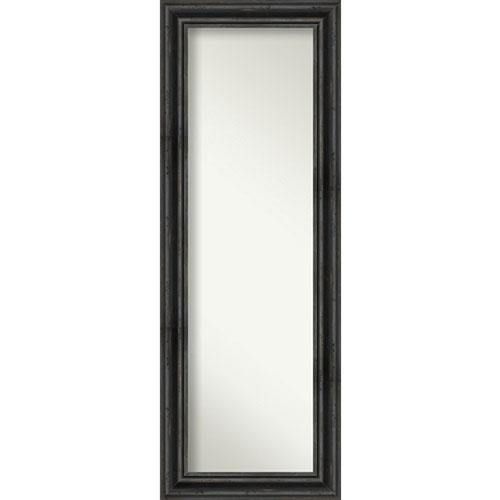 Rustic Pine Black 19-Inch Full Length Mirror