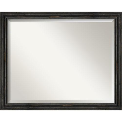 Black 31-Inch Wall Mirror
