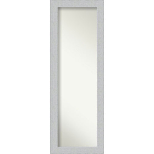 Shiplap White 18-Inch Full Length Mirror