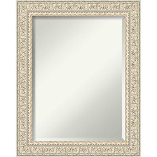 Fair Baroque Cream 24-Inch Wall Mirror