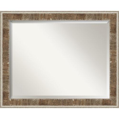 Farmhouse Brown Wall Mirror