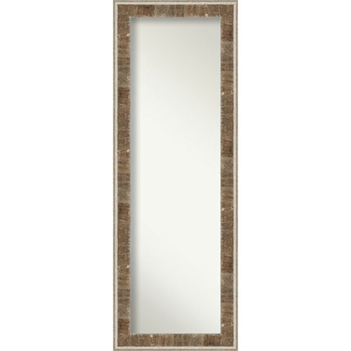 Farmhouse Brown 19-Inch Full Length Mirror