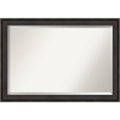 Allure Charcoal 40-Inch Bathroom Wall Mirror