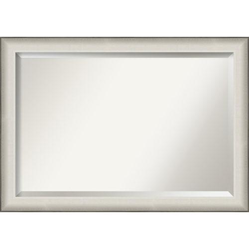 Allure White 41-Inch Wall Mirror