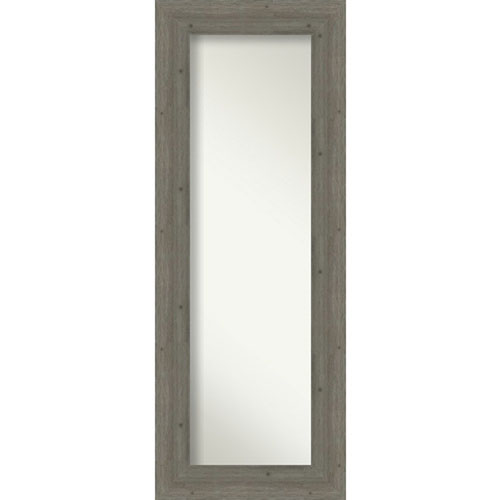 Fencepost Gray 21-Inch Full Length Mirror