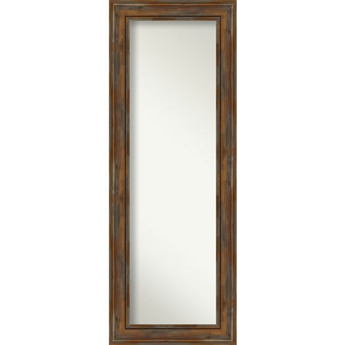 Alexandria Rustic Brown 20-Inch Full Length Mirror