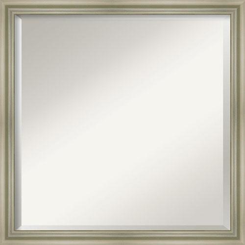 Silver 22-Inch Bathroom Wall Mirror