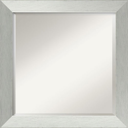 Silver 24-Inch Bathroom Wall Mirror