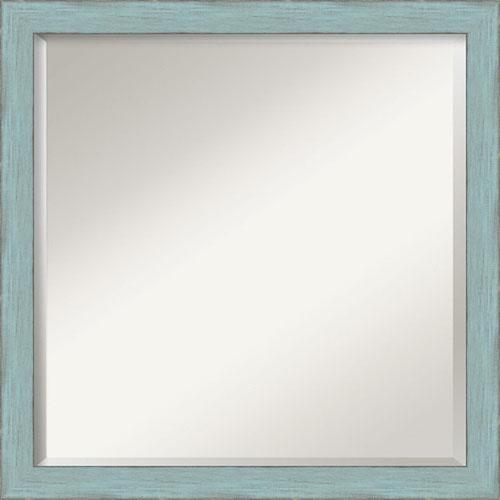 Blue 22-Inch Bathroom Wall Mirror