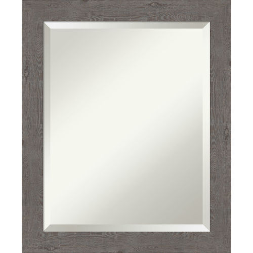Gray 19W X 23H-Inch Bathroom Vanity Wall Mirror