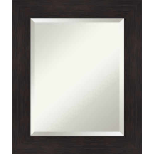 Espresso 21W X 25H-Inch Bathroom Vanity Wall Mirror