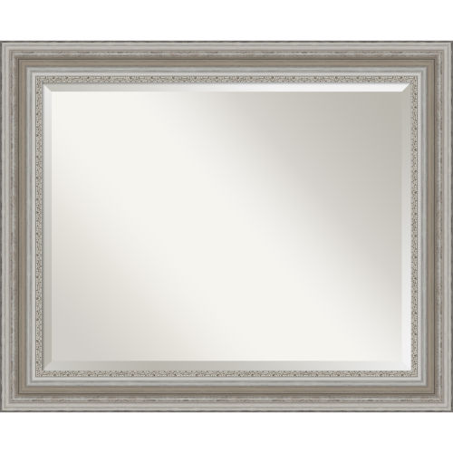 Parlor Silver Bathroom Vanity Wall Mirror