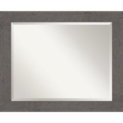 Gray Bathroom Vanity Wall Mirror