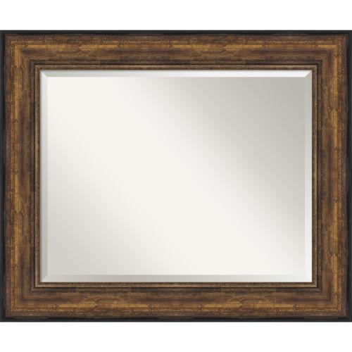 Bronze 4-Inch Frame Bathroom Vanity Wall Mirror