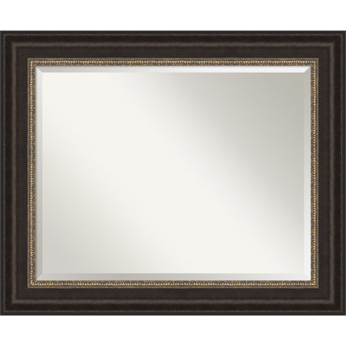Bronze 34W X 28H-Inch Bathroom Vanity Wall Mirror