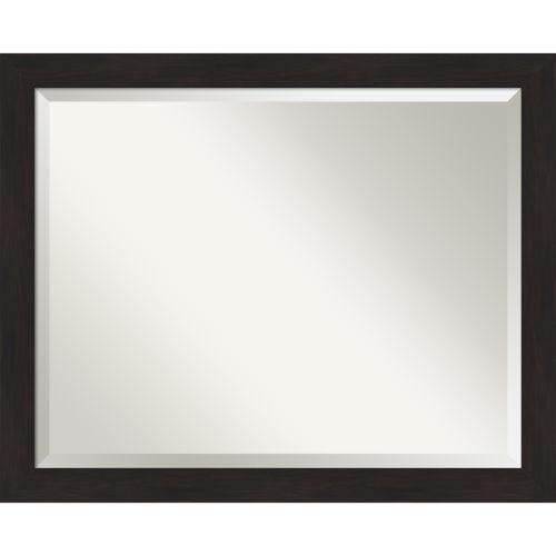 Espresso 32W X 26H-Inch Bathroom Vanity Wall Mirror