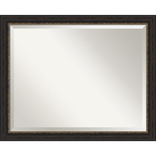 Bronze 32W X 26H-Inch Bathroom Vanity Wall Mirror