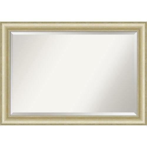 Gold 41W X 29H-Inch Bathroom Vanity Wall Mirror