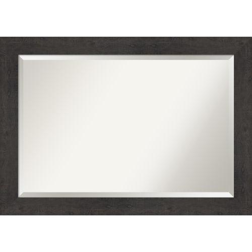 Espresso Frame 41W X 29H-Inch Bathroom Vanity Wall Mirror
